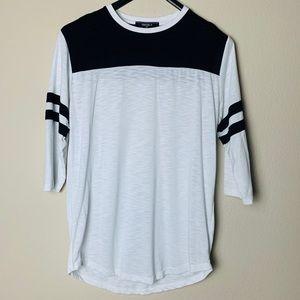 Men's Forever21 - 3/4 sleeve baseball shirt